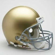 Notre Dame Fighting Irish Helmet Riddell Authentic Full Size VSR4 Style