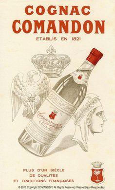 Comandon Cognac, 1905, Ad