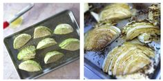Roasted Cabbage with EVOO and Lemon - Freakin' delish!!
