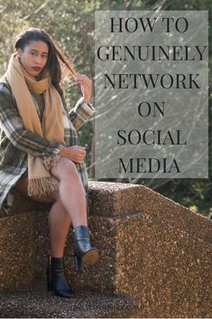 Three tips on how to authentically and successfully network over #socialmedia.