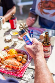 Crab Boil Party Idea
