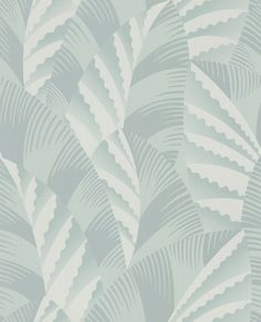 Chrysler Duck Egg wallpaper by Osborne & Little