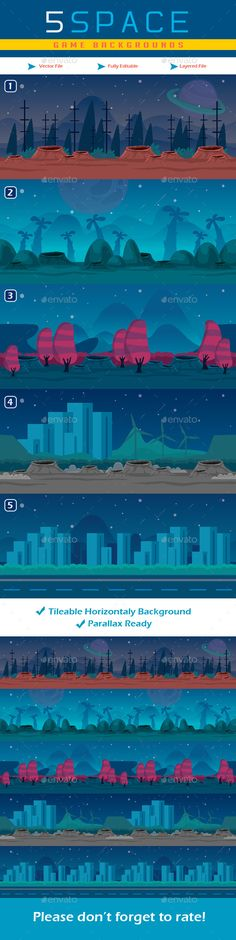5 Planet Game Backgrounds Download here: https://graphicriver.net/item/5-planet-game-backgrounds/17922132?ref=KlitVogli