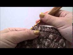 Gorro con punto cesta a crochet. - YouTube