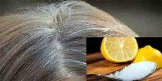 Try This Coconut Oil And Lemon Hair Mask Against Gray Hair! How This Coconut Oil and Lemon Mask Works and How To Prepare It? Grey Hair Natural Remedy, Grey Hair Cure, Prevent Grey Hair, Natural Hair Styles, Gray Hair, Natural Remedies, Diy Beauty, Beauty Hacks, Lemon Hair