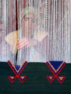 turkish weaver #ManosArtesanas