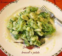la cuoca eclettica: Orecchiette con broccoli e patate