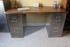 22 best filing cabinet desk images diy ideas for home windows rh pinterest com filing cabinet desk diy filing cabinet desk base