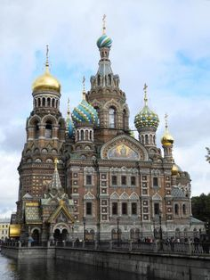 Church onSpilled Blood (Church of the Resurrection of Jesus) St. Petersburg, Russia