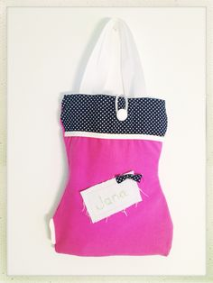 Personalised bag for little girls