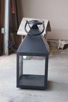 House No. 3: DIY Lantern Lights