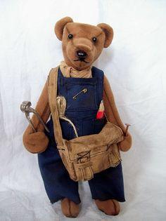 Hodinový manžel Teddy Bears, Toys, Animals, Animales, Animaux, Teddy Bear, Gaming, Games, Animais