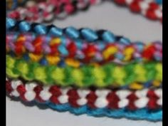How to make The Double Chain Knot Friendship Bracelet - http://videos.silverjewelry.be/bracelets/how-to-make-the-double-chain-knot-friendship-bracelet/