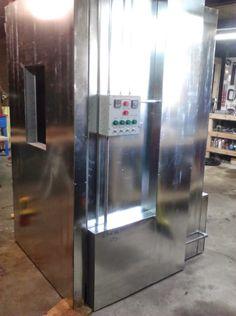 powder coating oven build control panel