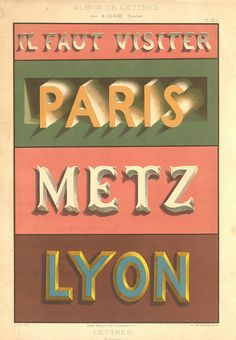 so much old design on here  lettre pl22 by pilllpat (agence eureka), via Flickr