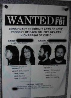 "The ""Wanted"" poster."