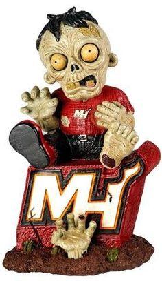MIAMI HEAT ON LOGO FIGURINE Halloween new in box