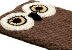 2012's version of the knitted plant holder - love this owl iPad cover!