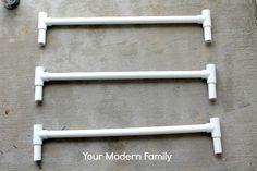 DIY staircase gate