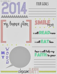 10 Printables for the New Year