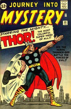 Marvel Dc Comics, Old Comics, Marvel Comic Books, Comic Book Heroes, Comic Books Art, Comic Art, Thor Marvel, Captain Marvel, Silver Age Comics