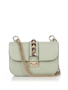 Lock small leather shoulder bag   Valentino   MATCHESFASHION.COM UK
