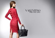 And of course, the decadent red dress is   a must!
