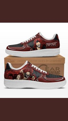 Air Force Shoes, Japanese Outfits, Painted Shoes, Custom Shoes, My Hero Academia, Anime Guys, Casual Shoes, Fashion Shoes, Vans