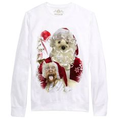 American Rag Men's Crewneck Graphic Christmas Sweatshirt, White #AmericanRagCie #Pullover Cat Sweaters, Girls Sweaters, Sweaters For Women, Christmas Sale, Christmas Sweaters, Chicken Sweater, Elbow Patch Sweater, Face Swaps, American Rag