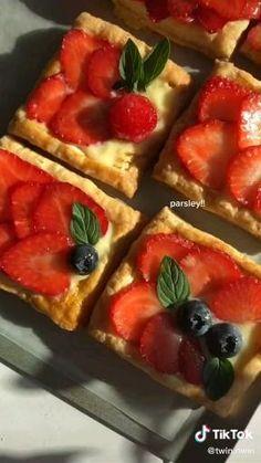Fun Baking Recipes, Sweet Recipes, Dessert Recipes, Cooking Recipes, Cooking Food, Yummy Food, Tasty, Food Cravings, Food Videos