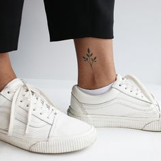 A reminder to yourself that the little things can come together to make something beautiful #inkboxlove #planttattoo #minimaltattoo #branchtattoo #tattooinspiration