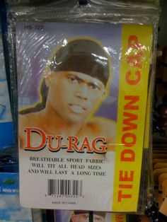 Du-Rag: Breathable Sport Fabric Will Tit (really?) All Head Sizes And Will Last A Long Time