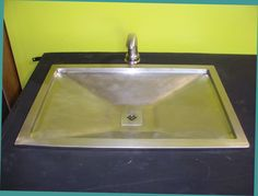 Absolute Bath Sink - The Absolute Bath Sink is a drop-in bath sink made from solid cast bronze. 100% recycled metal.