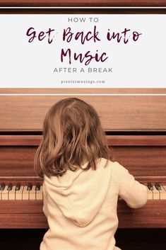 Sometimes life forces us to take some time off of doing music full time. Here are 4 tips for when you are getting back into music after an extended break. Types Of Goals, Short Term Goals, Best Piano, Piano Teaching, Keep Moving Forward, Get Back, Piano Lessons, Listening To You, Motivate Yourself