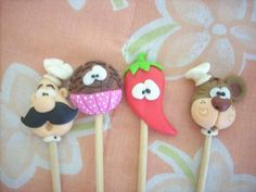 Palitos decorados by Biscuit da Ta, via Flickr