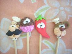 Palitos decorados by Biscuit da Ta, via Flickr