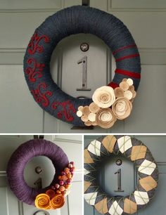 I really want to try making one of these. They are so cute. Love the purple one!!