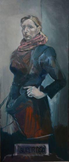 "Saatchi Art Artist Sas Toll; Painting, ""SUPEREGO"" #art"