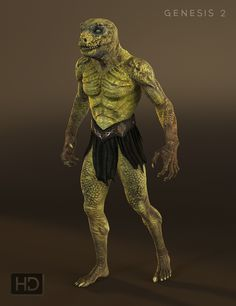 An intimidating reptile creature for Genesis 2 Male(s). Reptilian 6 is built on DAZ's revolutionary Genesis 2 Base Male so you can mix and match him with any other Genesis 2 Base Male morph or character. Reptiles, Lizards, Chinese Dragon Drawing, Age Of Mythology, Alien Character, Genesis 2, Fantasy Fiction, Fantasy Art, Alien Races