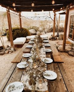 Desert dinner party at the Joshua Tree House Joshua Tree Wedding, Outdoor Dinner Parties, Outdoor Dining, Outdoor Decor, Outdoor Spaces, Patio Dining, Outdoor Life, Desert Homes, A Table