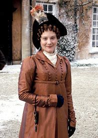 Lucy Robinson in Pride and Prejudice; photo and hat by Melbourne milliner Louise Macdonald