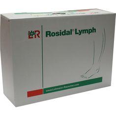 ROSIDAL Lymph Bein groß:   Packungsinhalt: 1 St Binden PZN: 00144839 Hersteller: Lohmann & Rauscher GmbH & Co.KG Preis: 262,40 EUR inkl.…