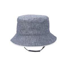 4d28c3b2593b2 Layette Chambray Blue Chambray Bucket Hat at JanieandJack Janie And Jack