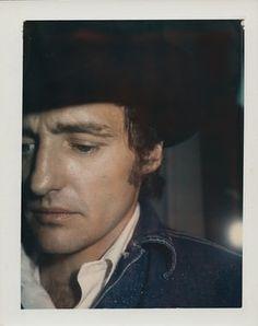 Dennis Hopper, 1970 (Polaroid) © The Andy Warhol Foundation for the Visual Arts, Inc. Pop Art, Audrey Hepburn, Andy Warhol Portraits, Dennis Lee, Selfies, Polaroid Photos, Polaroids, Dennis Hopper, Best Photographers