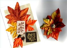 Ideas for Kids Art With Leaves