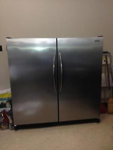 Frigidaire Stainless Steel Single Door Refrigerator and Freezer Penticton Kelowna image 1