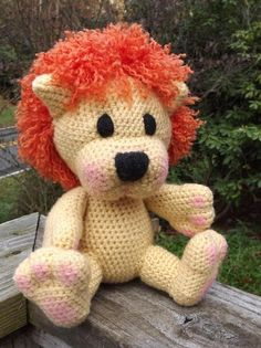 (4) Name: 'Crocheting : Baby Lion Amigurumi Pattern