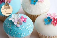 Decoración de cupcakes de 15 años - Imagui