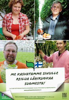 Puhtaasti kotimainen - Me kasvatamme sinulle reilua lähiruokaa Suomesta! 2012