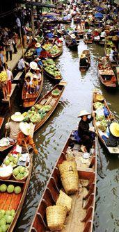 Floating Market Damnoen Saduak Tiger Temple and Bridge on the River Kwai